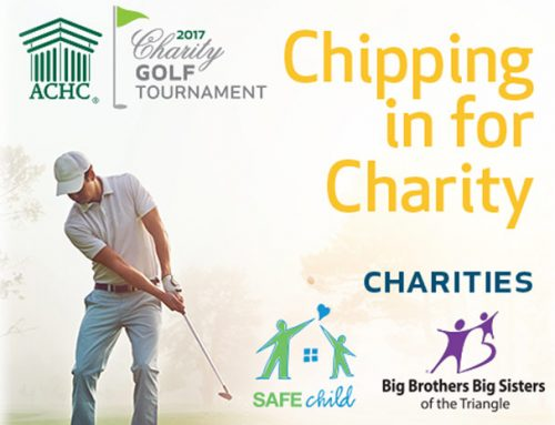 Join us for ACHC Chipping in for Charity Golf Tournament